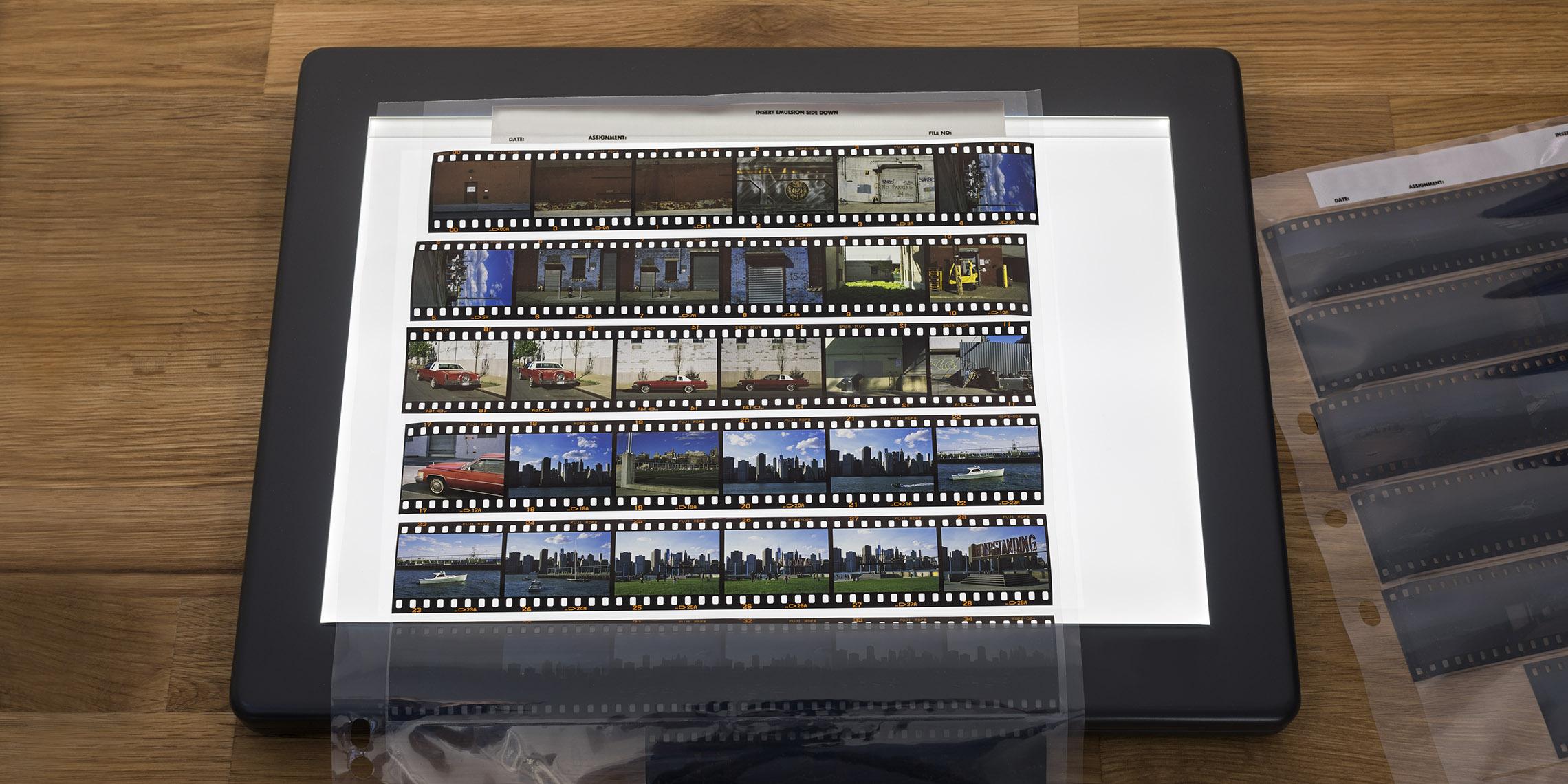 Why use slide film?