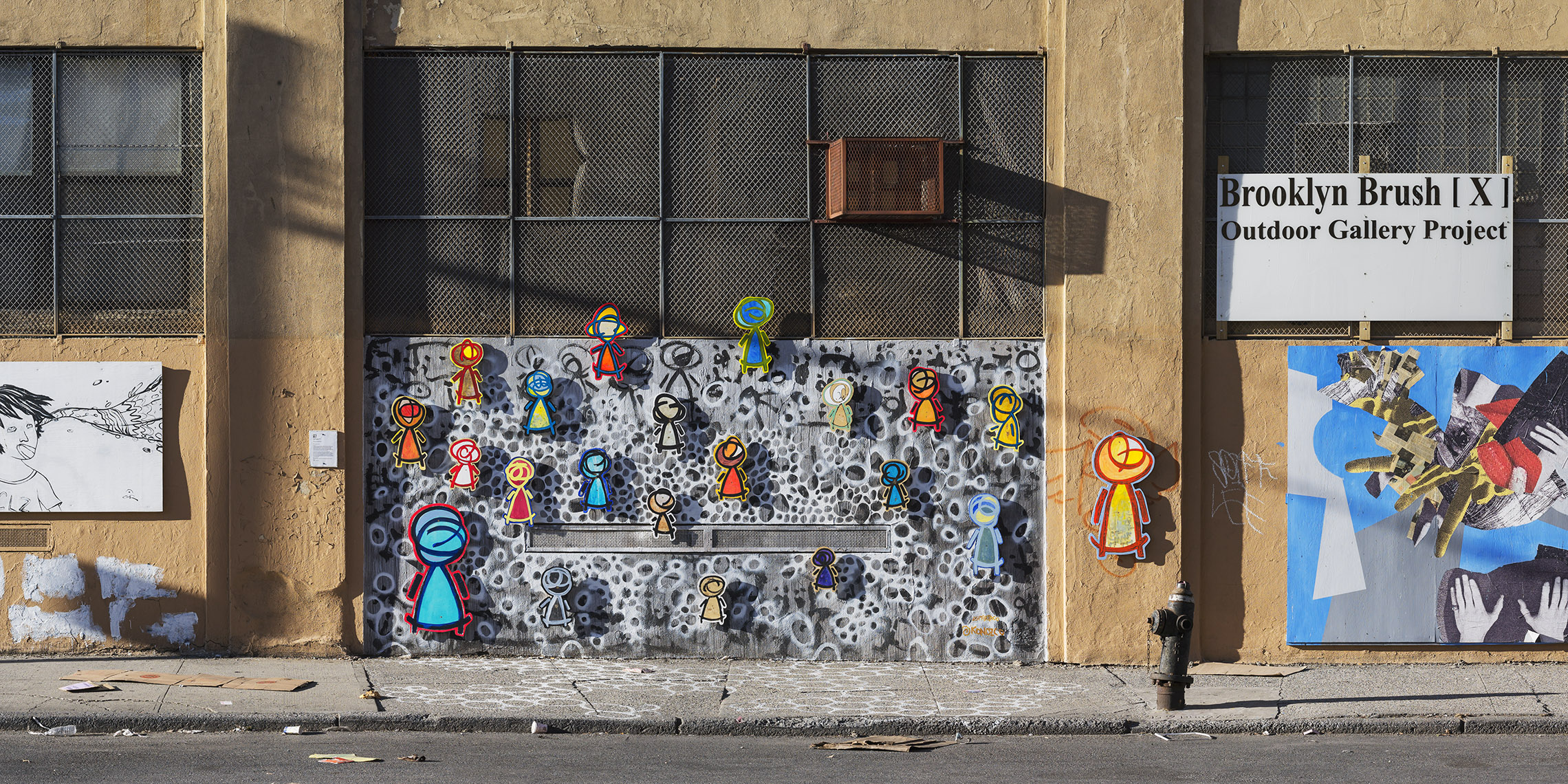 The Brooklyn Brush Outdoor Gallery